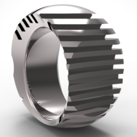 Small cuts ring 3D Printing 128972