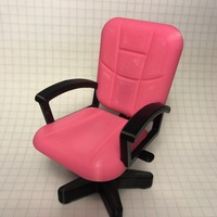 Small Desk Chair 3D Printing 129022