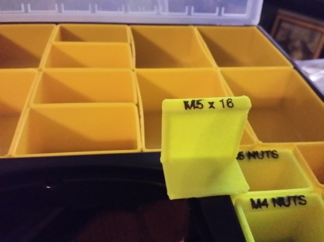 Organizer Tray / Box for Harbor Freight organizer 3D Print 129074