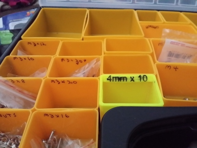 Organizer Tray / Box for Harbor Freight organizer 3D Print 129076