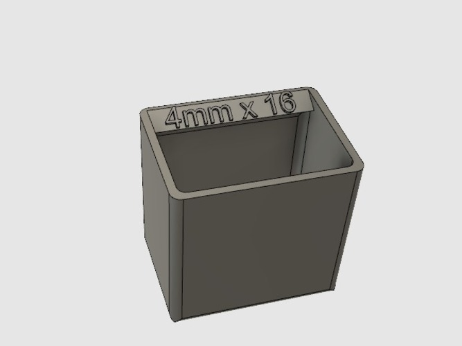 Organizer Tray / Box for Harbor Freight organizer 3D Print 129079