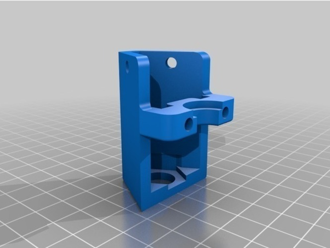 Folgertech i3 x carriage conversion to openbuilds style Remix 3D Print 129080