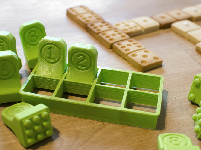 Domino Cookie Cutter 3D Print 129088