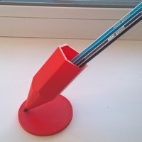 Small Stand for pencils and pens 3D Printing 129102