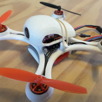 Small Mini Quad Racer 120mm  FC lumenier F4 Brushless 1103 10.000kv 2S 3D Printing 129142