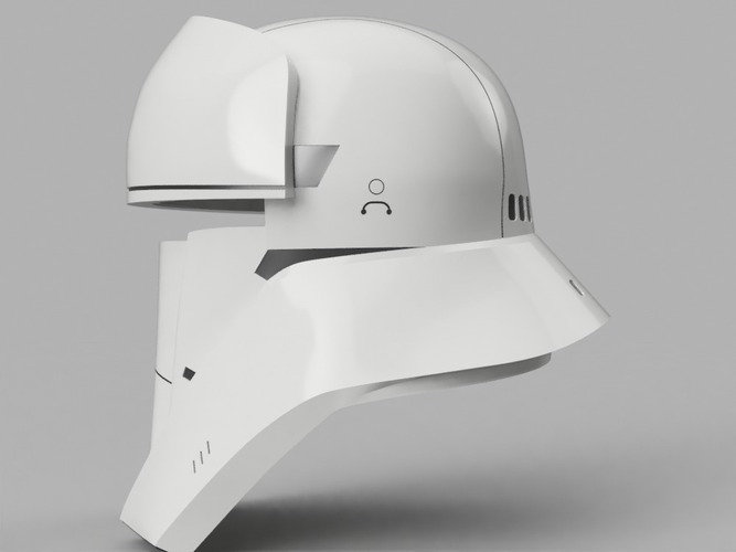 Tank Trooper Helmet Star Wars Rogue One 3D Print 129169