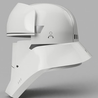 Small Tank Trooper Helmet Star Wars Rogue One 3D Printing 129169