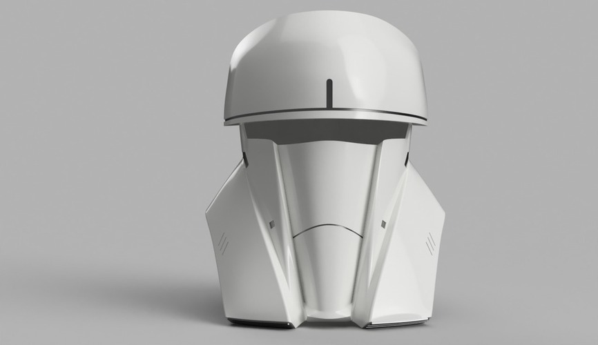 Tank Trooper Helmet Star Wars Rogue One 3D Print 129170