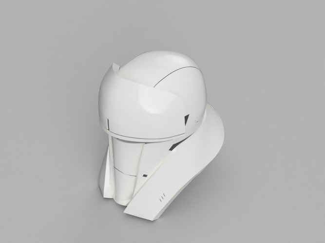 Tank Trooper Helmet Star Wars Rogue One 3D Print 129171