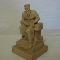 Small Thuner or Thunor, Saxon God  3D Printing 129188