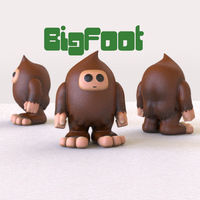 Small Squatchy 3D Printing 129208