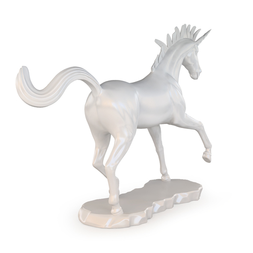 Unicorn Sculpture 3D Print 129279