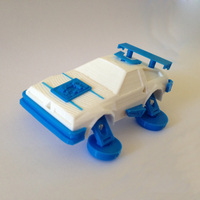 Small 3DRacers - DeLorean - Back to the Future 3D Printing 12928