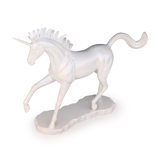Unicorn Sculpture 3D Print 129281
