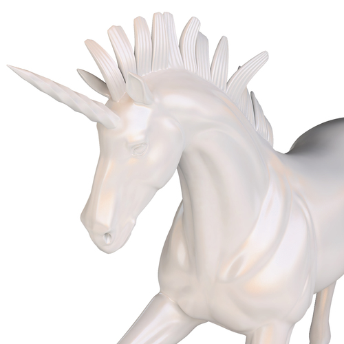Unicorn Sculpture 3D Print 129282