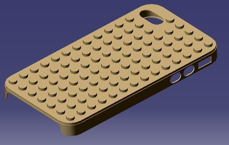iPhone 4S Lego Case 3D Print 129311