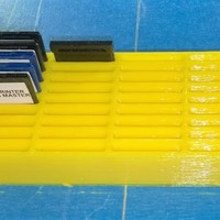 Small SD Card Storage Block 3D Printing 129367