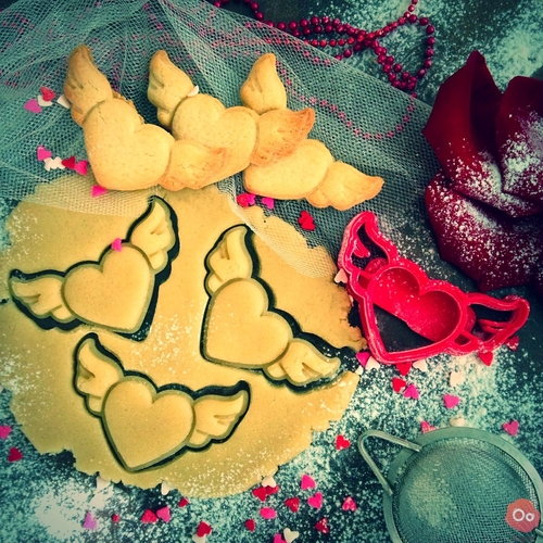 Heart Wings Cookie Cutter  3D Print 12940