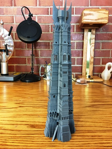 Orthanc Tower from The Lord of the Rings 3D Print 129439