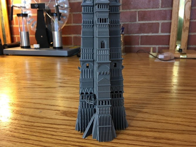 Orthanc Tower from The Lord of the Rings 3D Print 129441