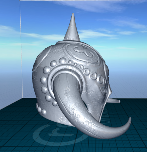 Death Dealer (inspired) helmet 3D Print 129450