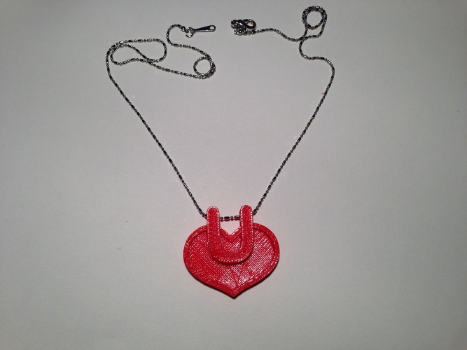 Necklace-Love style 2 3D Print 129464
