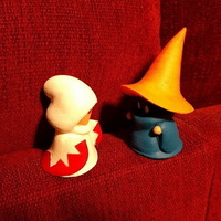 Small Black and White mage 3D Printing 129522