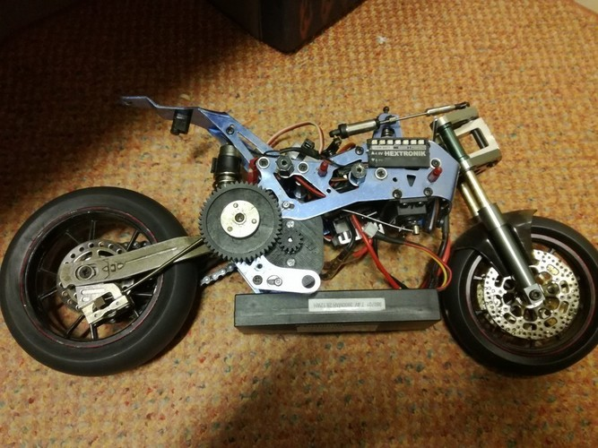 VH-GP5 Nitro Bike Electric Conversion 3D Print 129529