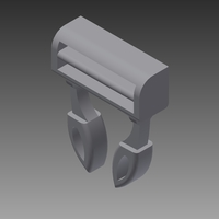 Small Plastic Clasp Fastener 3D Printing 129579