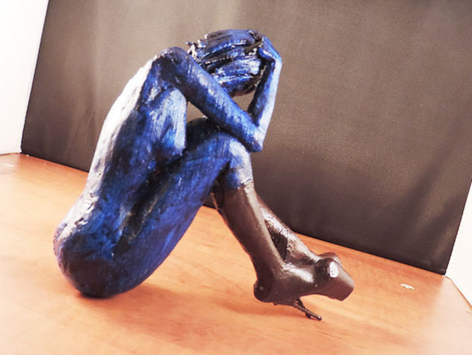 Cat Girl Blues.. 3D Print 129598
