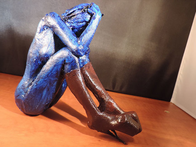 Cat Girl Blues.. 3D Print 129601