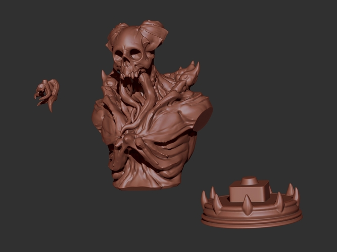 Cthulu Soldier 3D Print 129624