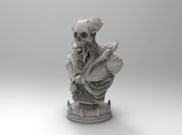 Medium Cthulu Soldier 3D Printing 129625