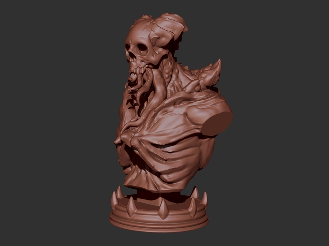 Cthulu Soldier 3D Print 129626