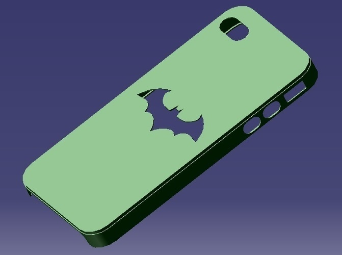 iPhone 4S Batman Case 3D Print 129651