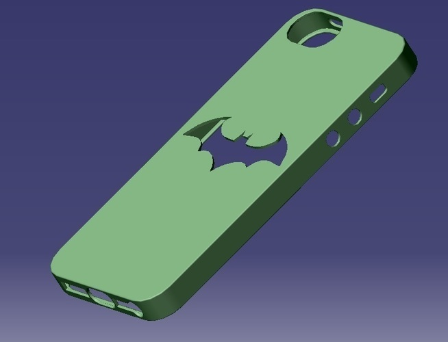 iPhone 5S Batman Case 3D Print 129652