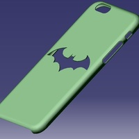 Small iPhone 6S Batman Case 3D Printing 129653