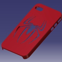 Small iPhone 4S Spider-man Case 3D Printing 129654
