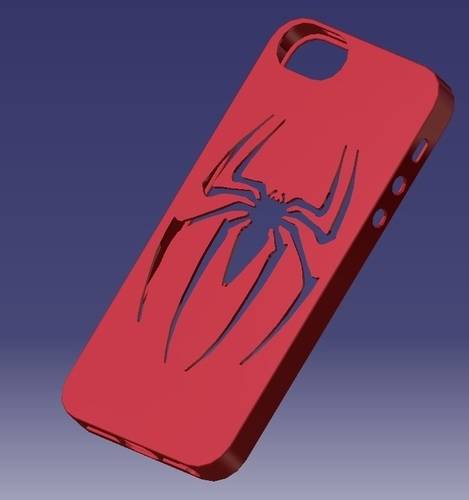 iPhone 5S Spider-man Case 3D Print 129655