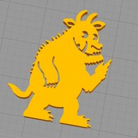 Small The Gruffalo 3D Printing 129804