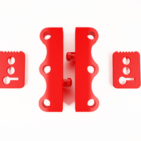 Small NO magnet SHOES latch fasteners 3D Printing 129837