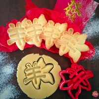 Small Chinese New Year 2015 Flower Cookie cutter 3D Printing 12984