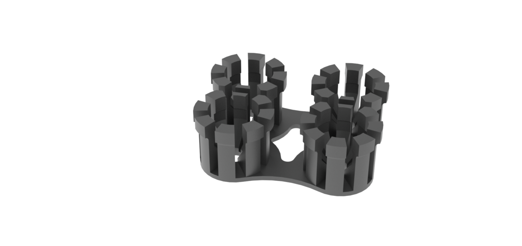 Cable Holder - Wall Mount 3D Print 129857