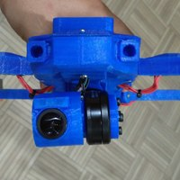 Small Mavic Clone Mini Gimbal 3D Printing 129864