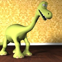 Small Arlo (The good dinosaur) 3D Printing 129870