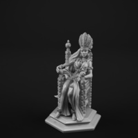 Small Queen 3D Printing 129905