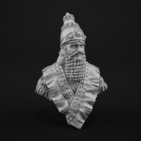 Small A noble Assyrian 3D Printing 129918