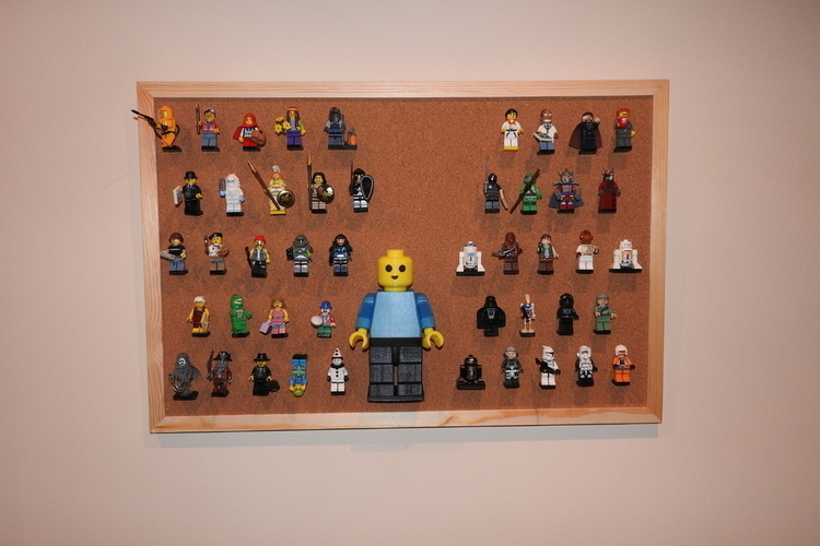 Lego pin for corkboards 3D Print 129939