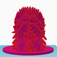 Small Game of Thrones bear 3D Printing 129971