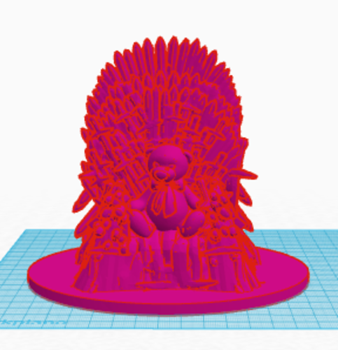 Game of Thrones bear 3D Print 129973